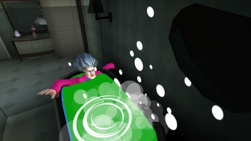 страшный учитель 3d ванна конец