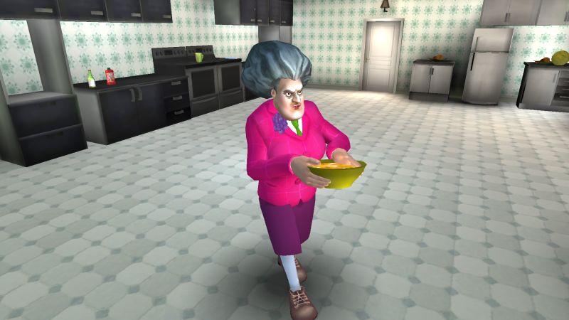 страшный учитель 3d завтрак