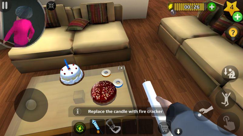 страшный учитель 3d торт свеча