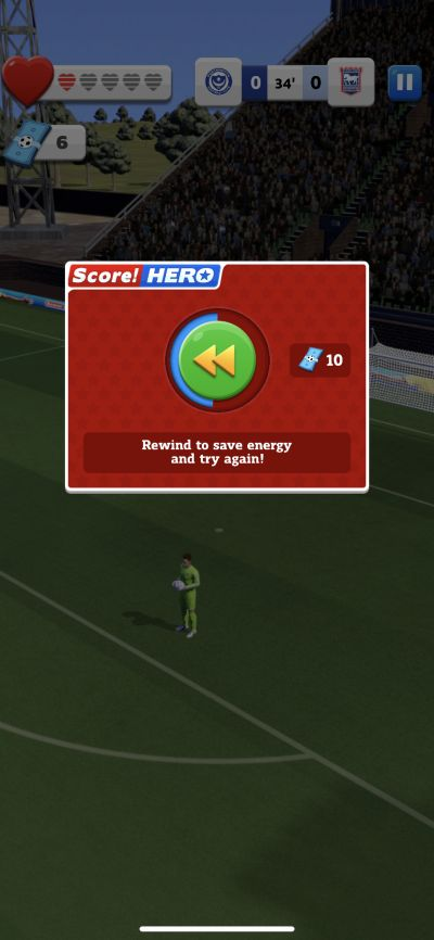 score! hero 2 rewind