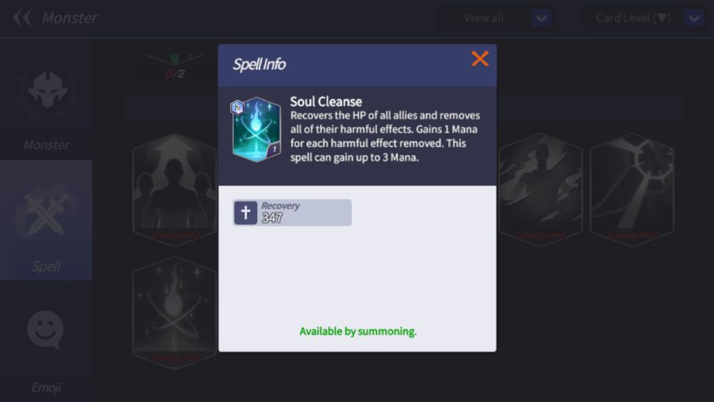 soul cleanse summoners war