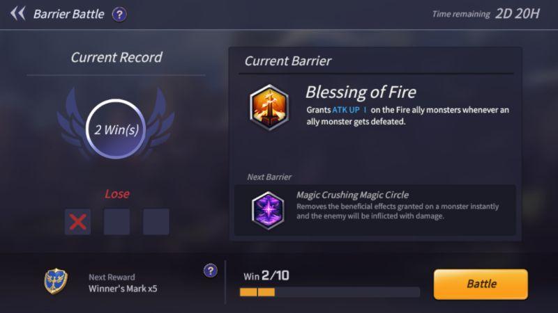 summoners war lost centuria barrier