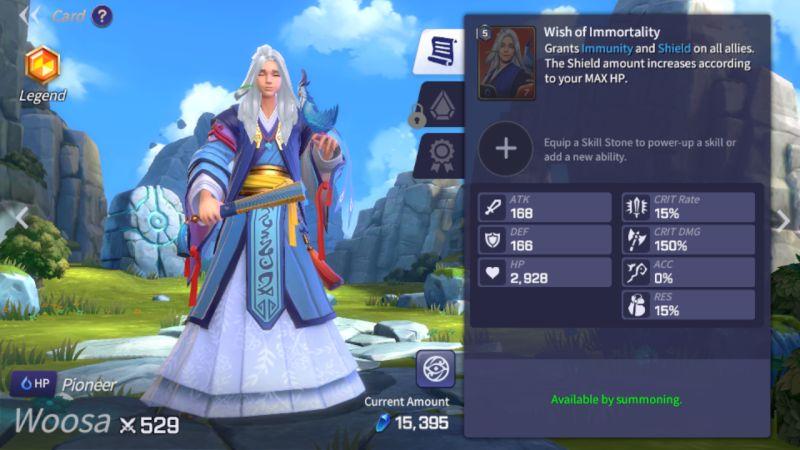summoners war lost centuria woosa