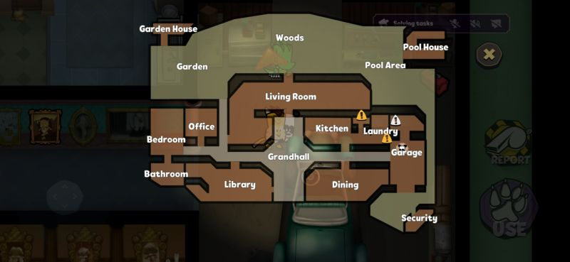 suspects mystery mansion map