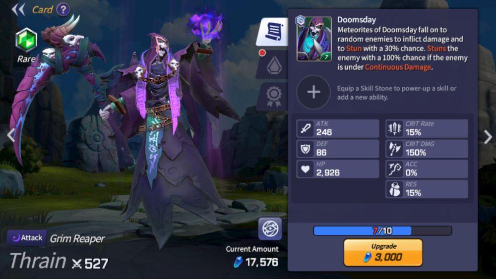 thrain summoners war