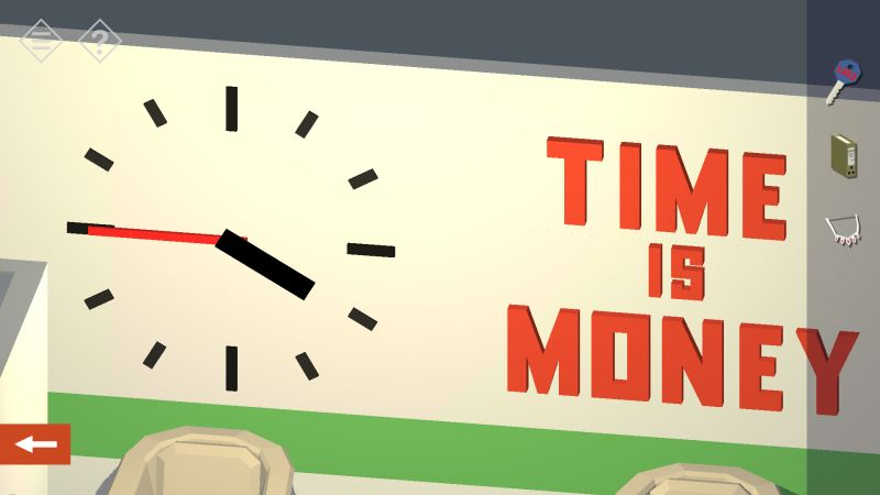 tiny room stories bank clock