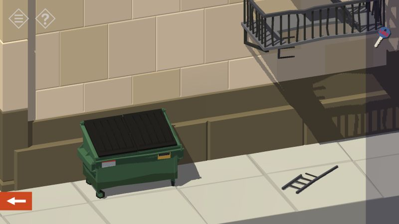 tiny room stories bank dumpster
