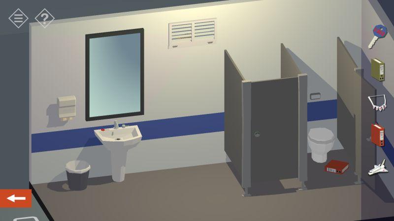 tiny room stories bank restroom