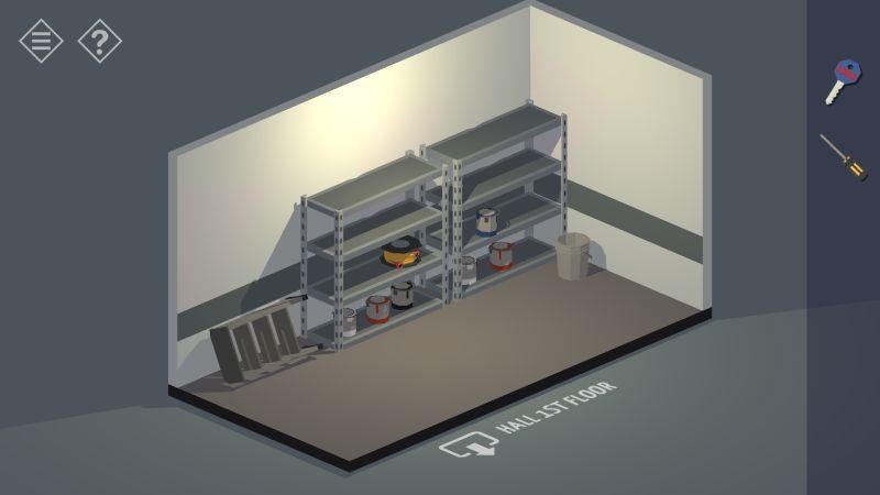 tiny room stories bank storeroom
