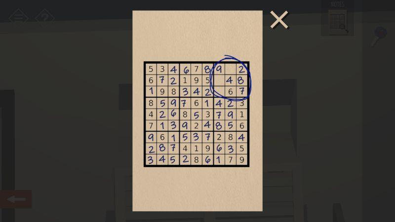 tiny room stories bank sudoku