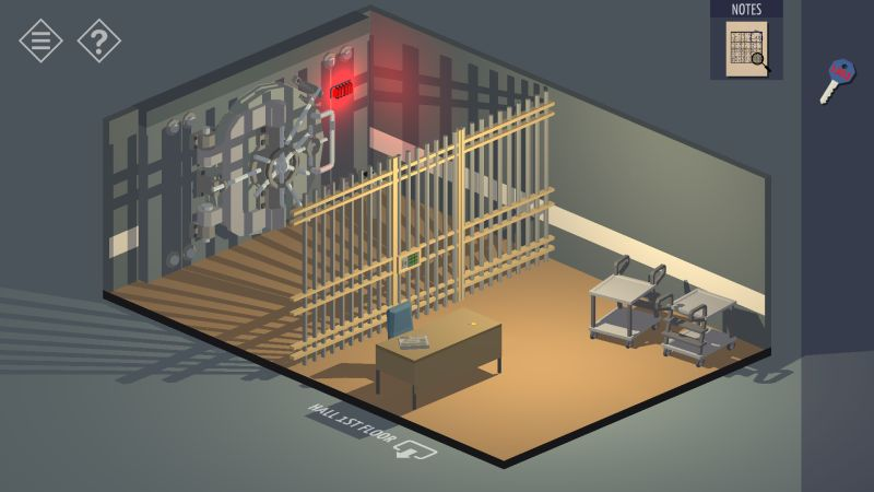 tiny room stories bank vault room