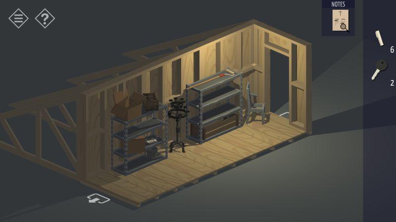tiny room stories church attic