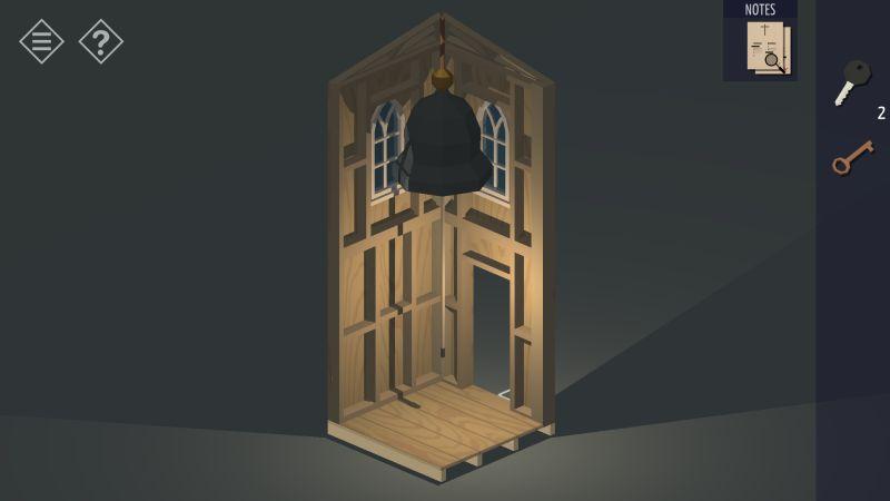 tiny room stories church attic bell