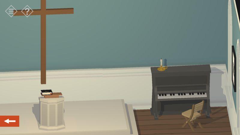 tiny room stories church piano