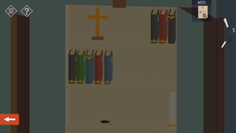 tiny room stories church secret key