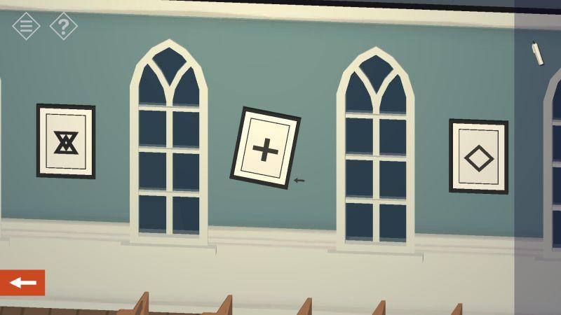 tiny room stories church symbols arrow