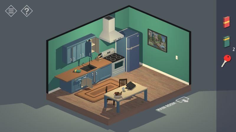 tiny room stories house kitchen