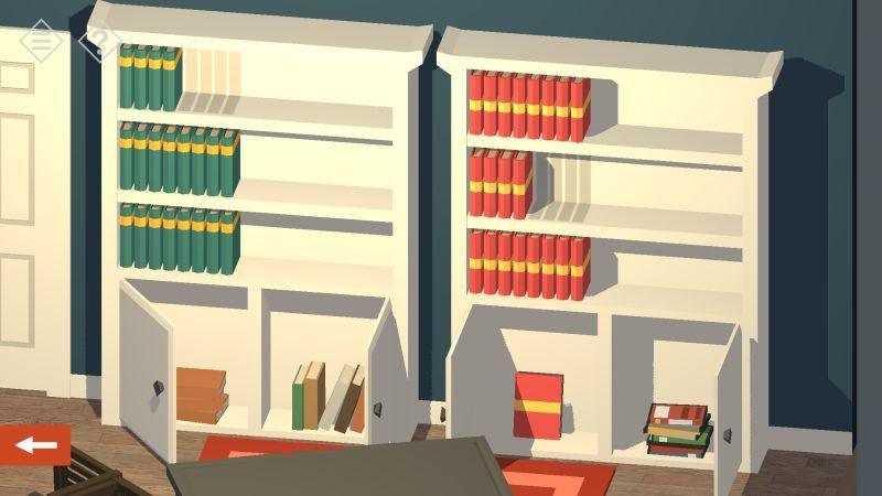 tiny room stories house shelves