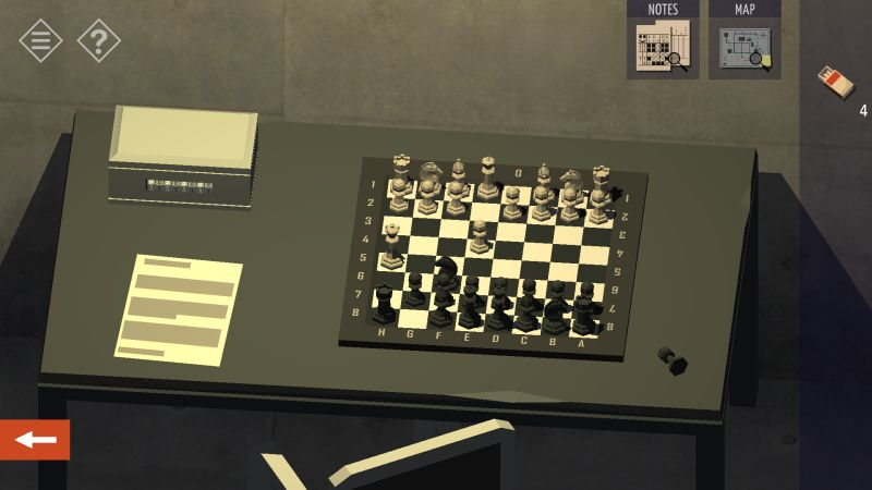 tiny room stories tunnel chess board