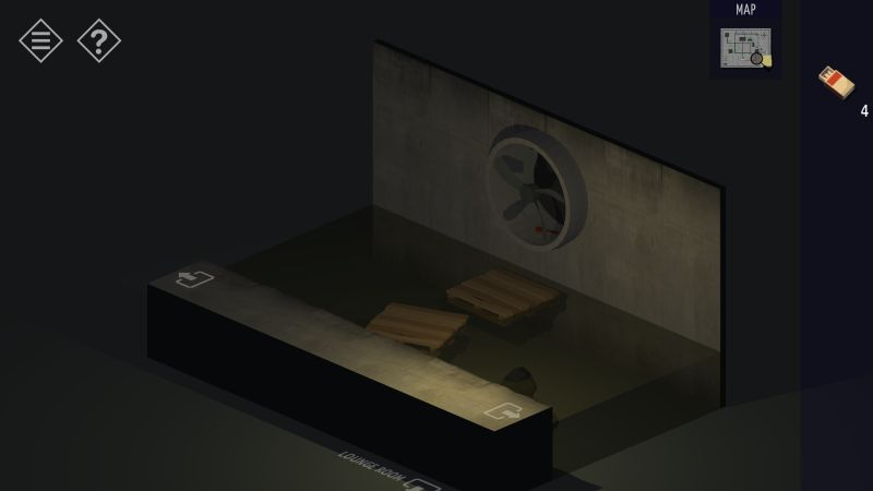tiny room stories tunnel sewer pallet