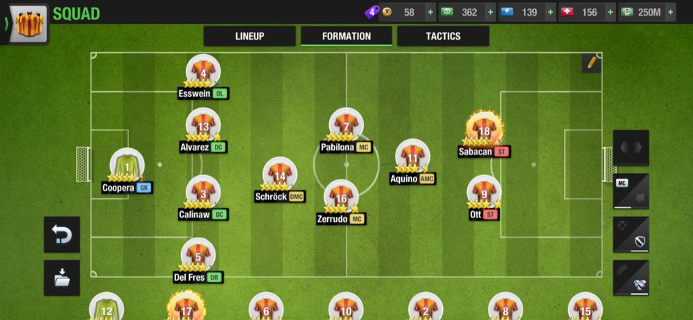top eleven 2021 4-1-2-1-2 attacking formation