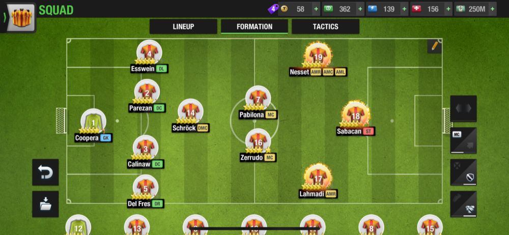 top eleven 2021 4-1-2-2-1 defensive formation