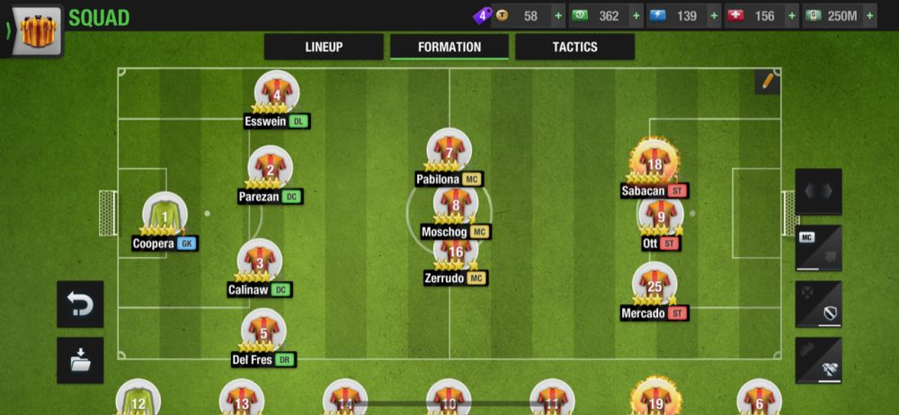 top eleven 2021 4-3-3 attacking formation