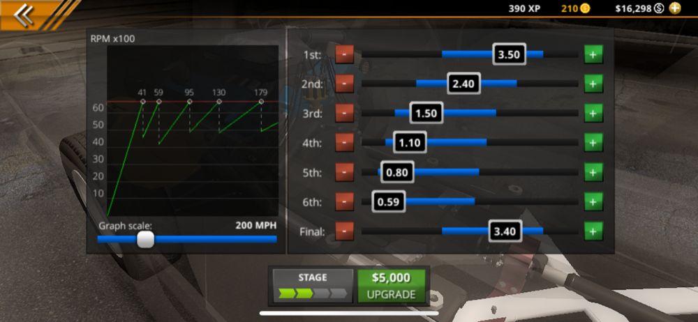 upgrade no limit drag racing 2