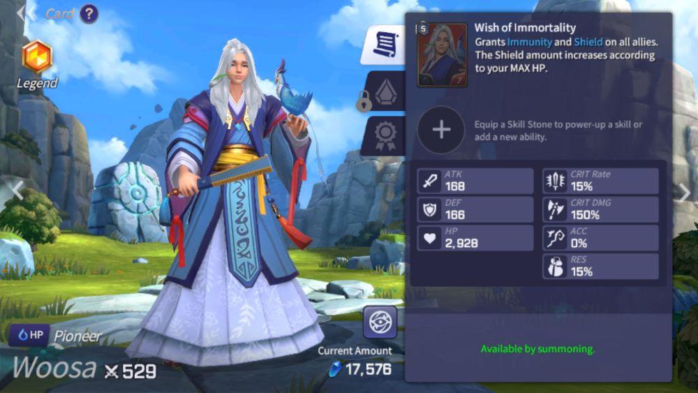 woosa summoners war