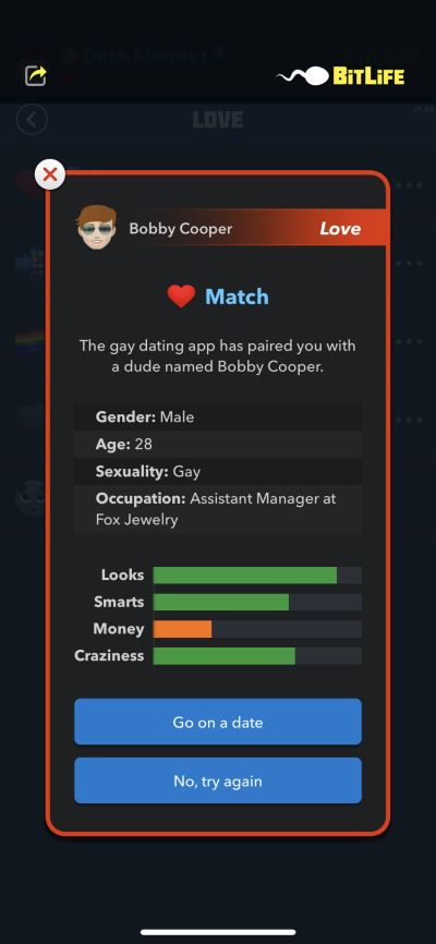 bitlife love match