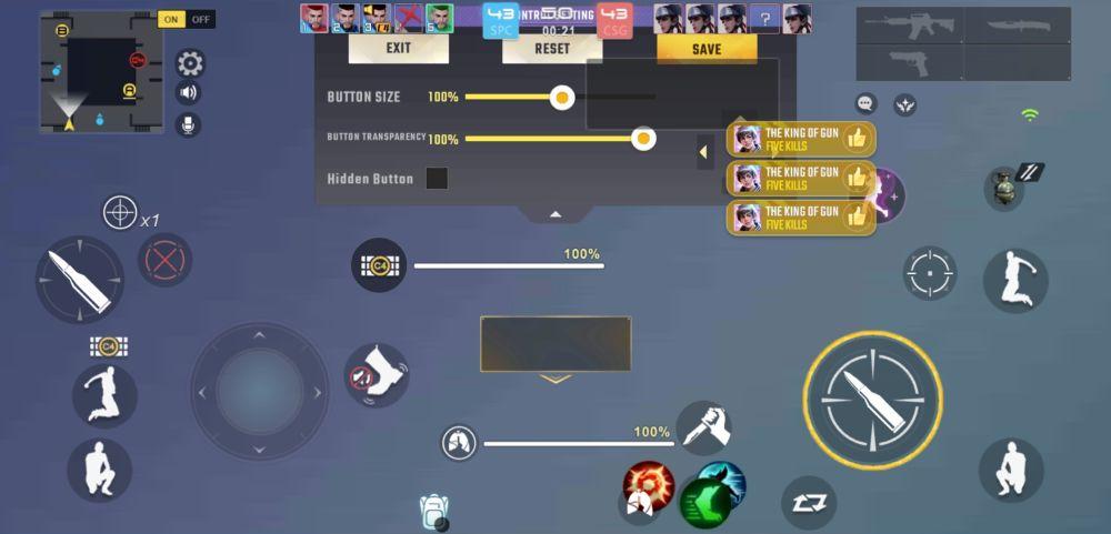 bullet angel xshot mission m control settings