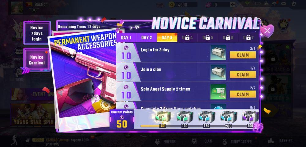 bullet angel xshot mission m rewards