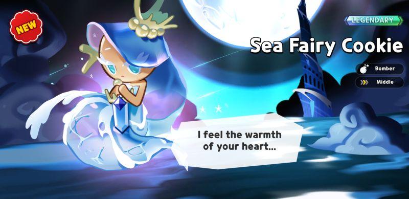sea fairy cookie cookie run kingdom