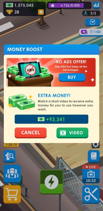 money boost idle barber shop tycoon