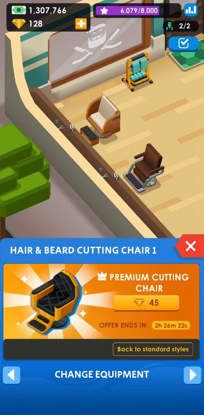 new furniture idle barber shop tycoon