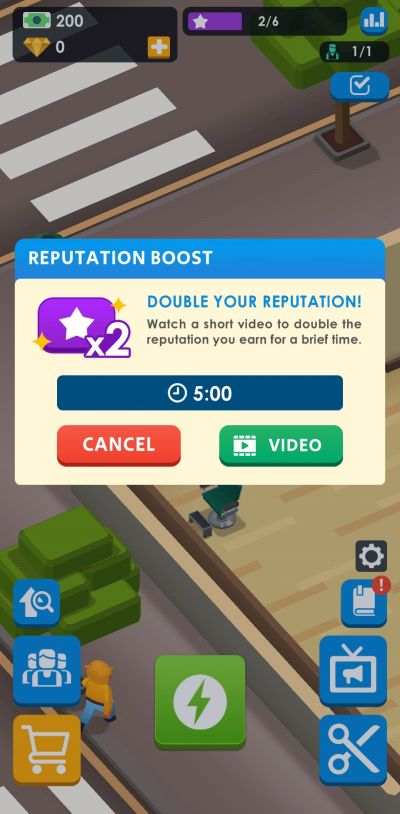 reputation boost idle barber shop tycoon