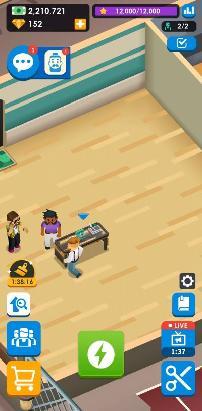 reputation points idle barber shop tycoon