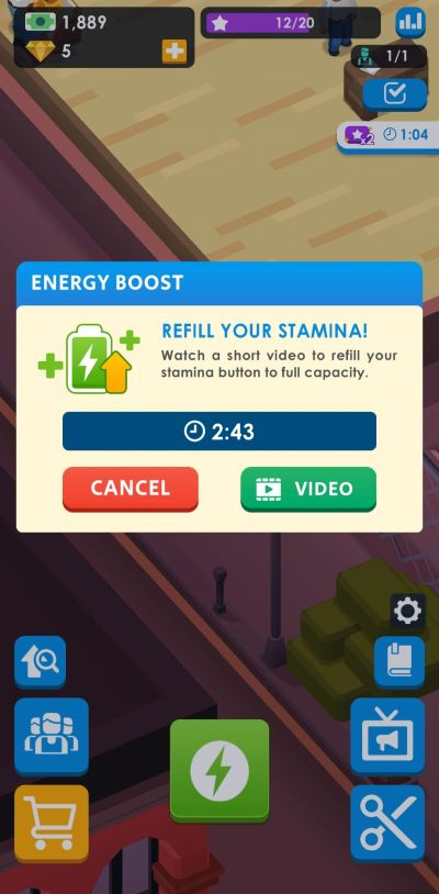 stamina boost idle barber shop tycoon