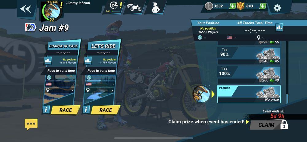 mad skills motocross 3 event