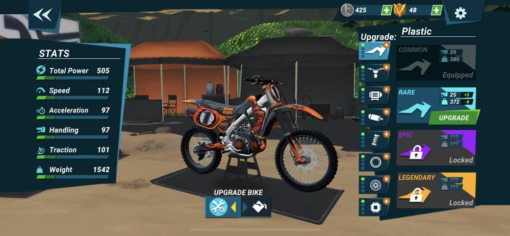 mad skills motocross 3 upgrades