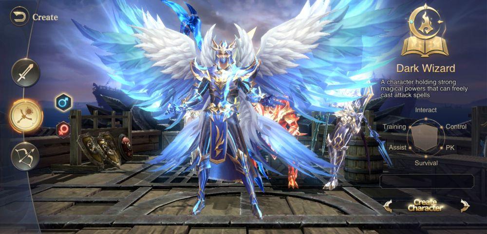 mu archangel dark wizard