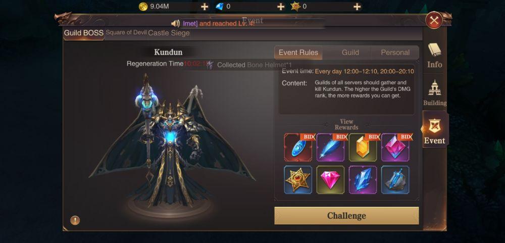 mu archangel guild boss