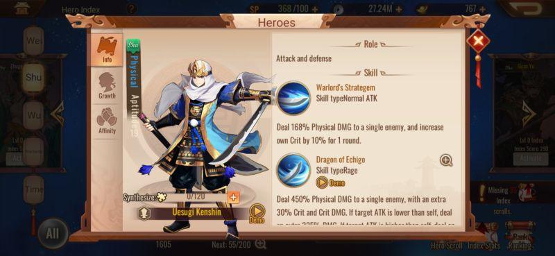 shu uesugi kenshin dynasty scrolls