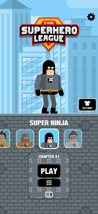 super ninja the superhero league