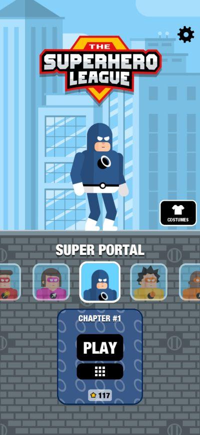 super portal the superhero league