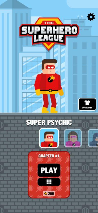 super psyhic the superhero league