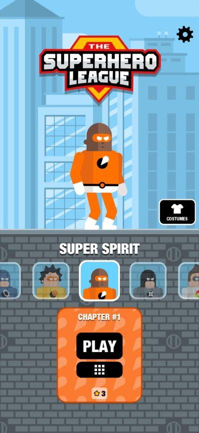 super spirit the superhero league