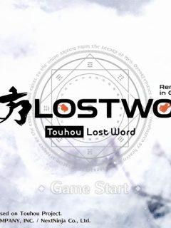 touhou lostword guide
