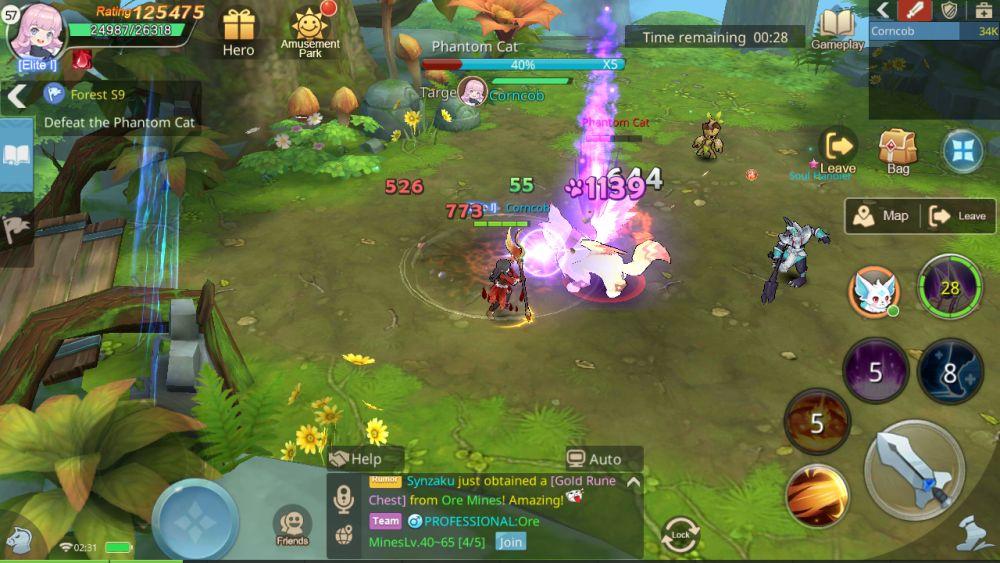 treasure hunt guardians of cloudia