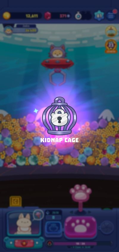 claw stars kidnap cage